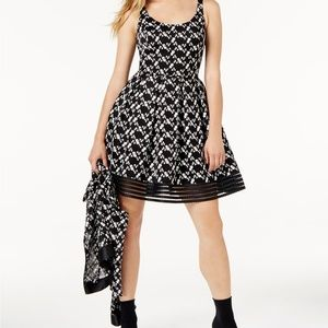 Sachin+Babi - Embroidered Lace Floral Dress - 10